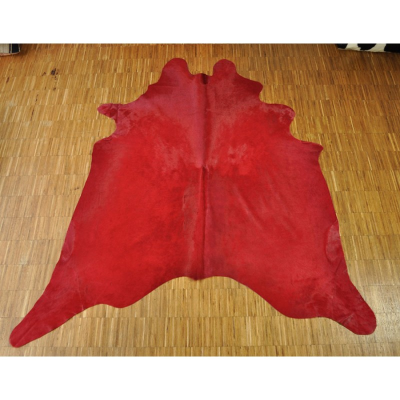 Cow hide redCow hide red