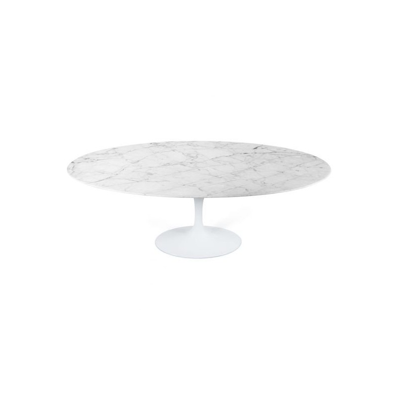 Table Saarinen 152 cm ronde marbre