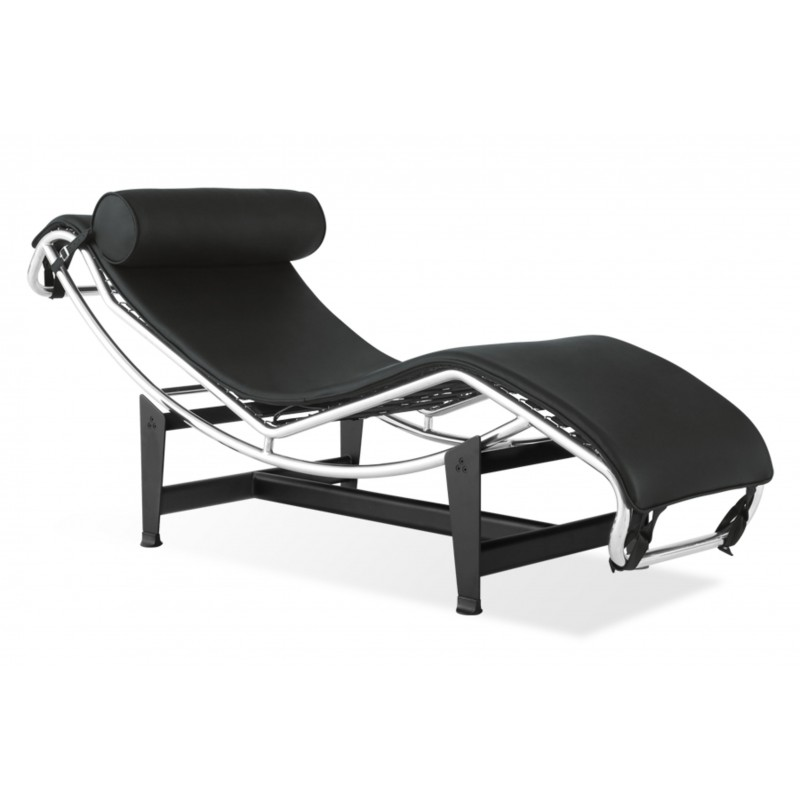 cowhide replica le platinum chaise longue corbusier
