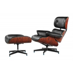 Charles E. Lounge chair and ottomanCharles E. Lounge chair and ottoman