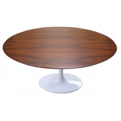 Round wooden tulip table 107 cm
