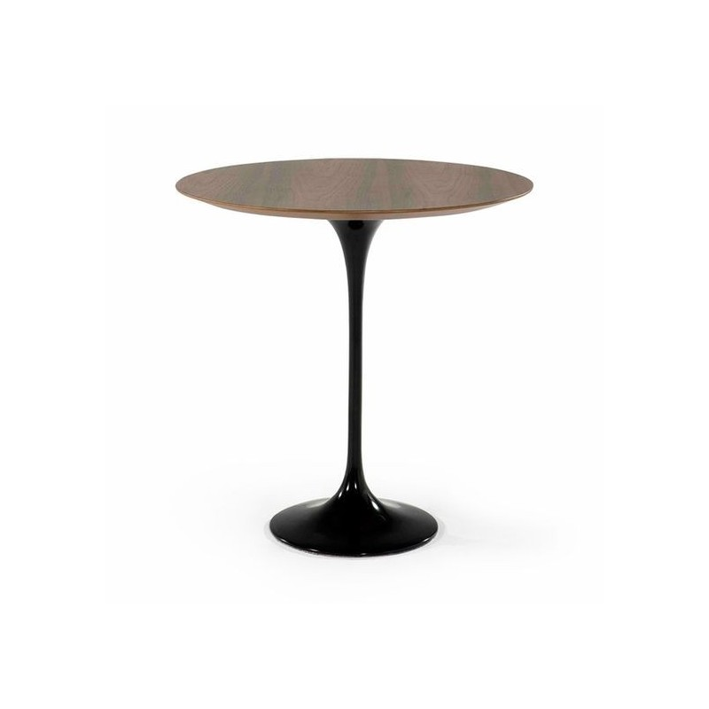 Table Saarinen 50cm bois d'appoint
