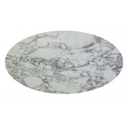 Saarinen oval 199 cm marble tulip table made in ItalySaarinen oval 199 cm marble tulip table made in Italy