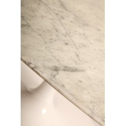 Oval marble table 165 cm made in Italy