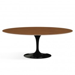 Table Saarinen 120 cm bois ronde tulipe