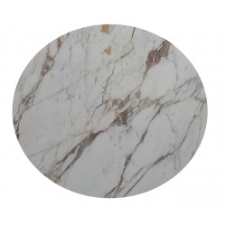 Round marble table 152 cm