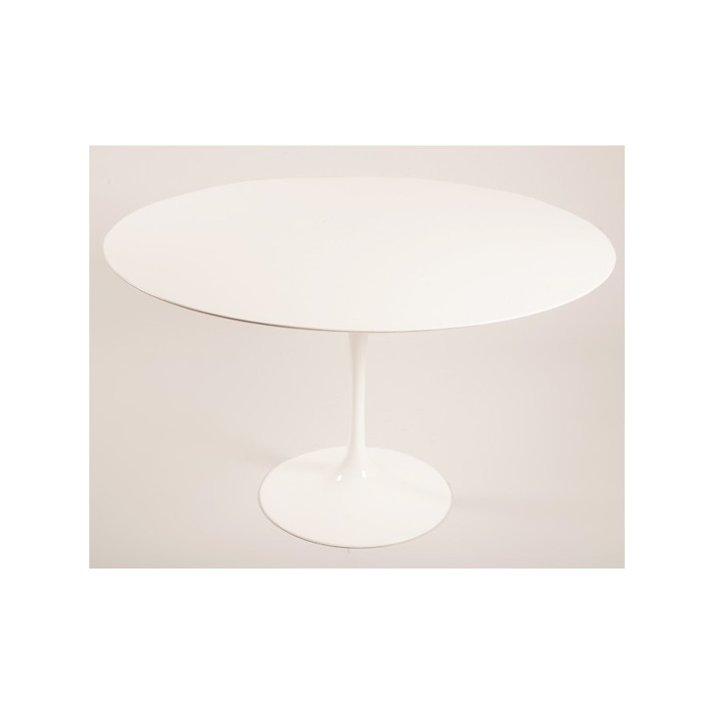 Table tulipe Saarinen 90 cm laminé ronde