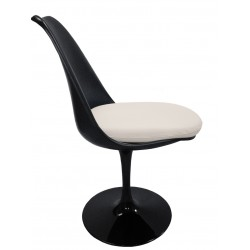 Saarinen Tulip chair Fiberglas black