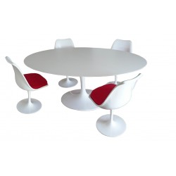 Saarinen Tulip table 137 cm laminateSaarinen Tulip table 137 cm laminate