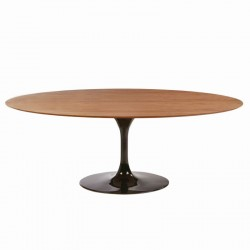 Table Saarinen 199 cm ovale bois