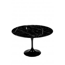 Round tulip marble table 90 cm