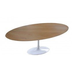 Table Saarinen 165 cm ovale bois