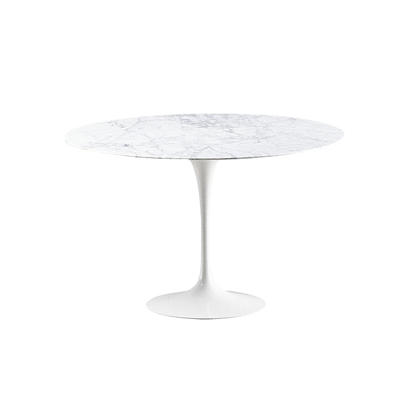 Table Saarinen 120 cm marbre ronde