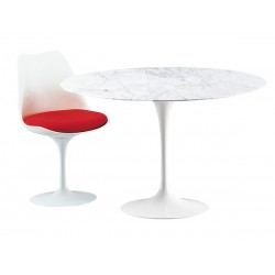 Saarinen round marble tulip table 120 cm - Made in ItalySaarinen round marble tulip table 120 cm - Made in Italy