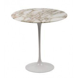 Table Saarinen 50 cm tulipe marbre rond