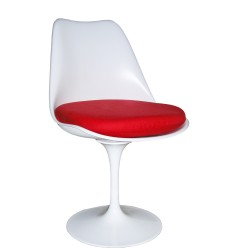 Saarinen Tulip chair Fiberglas white